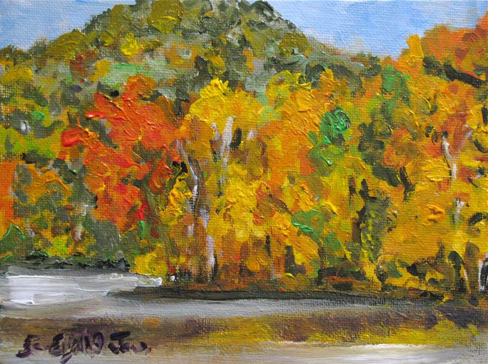 """Radnor Lake"" original fine art by Susan Elizabeth Jones"