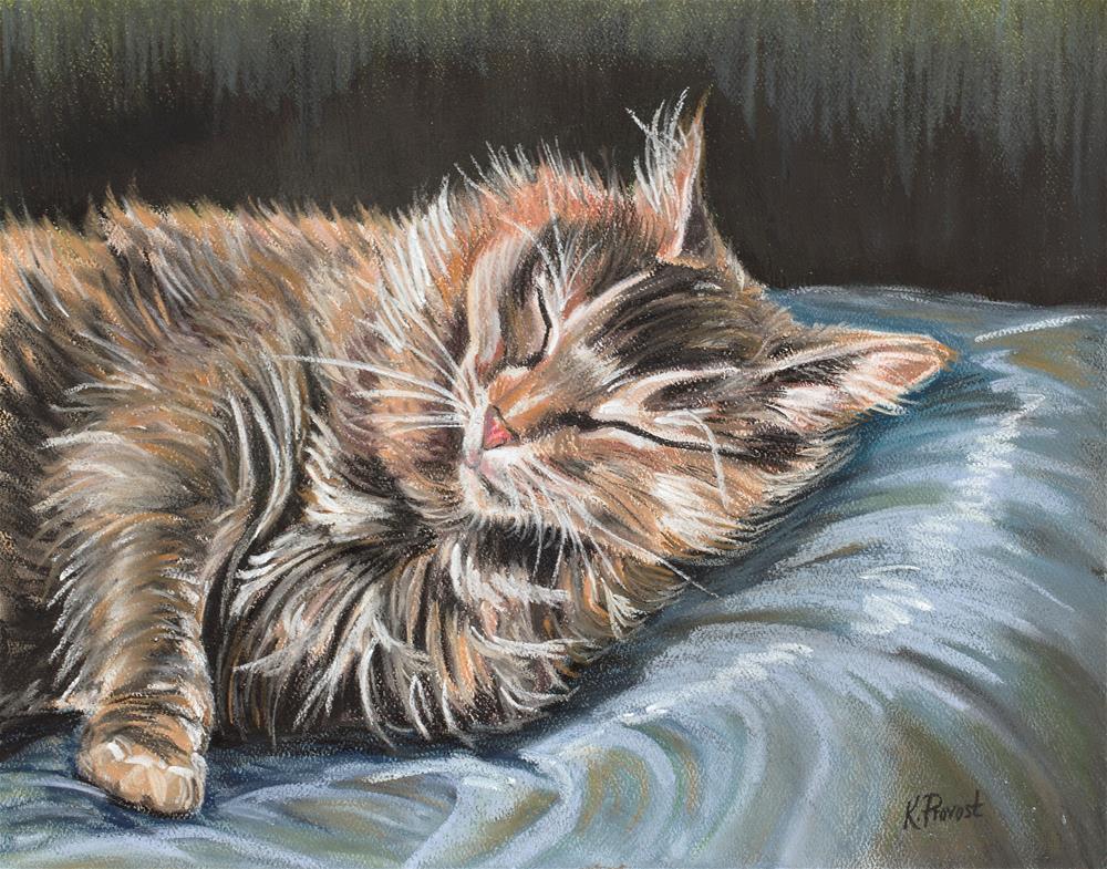 """Peaceful Sleep"" original fine art by Kimberly Provost"