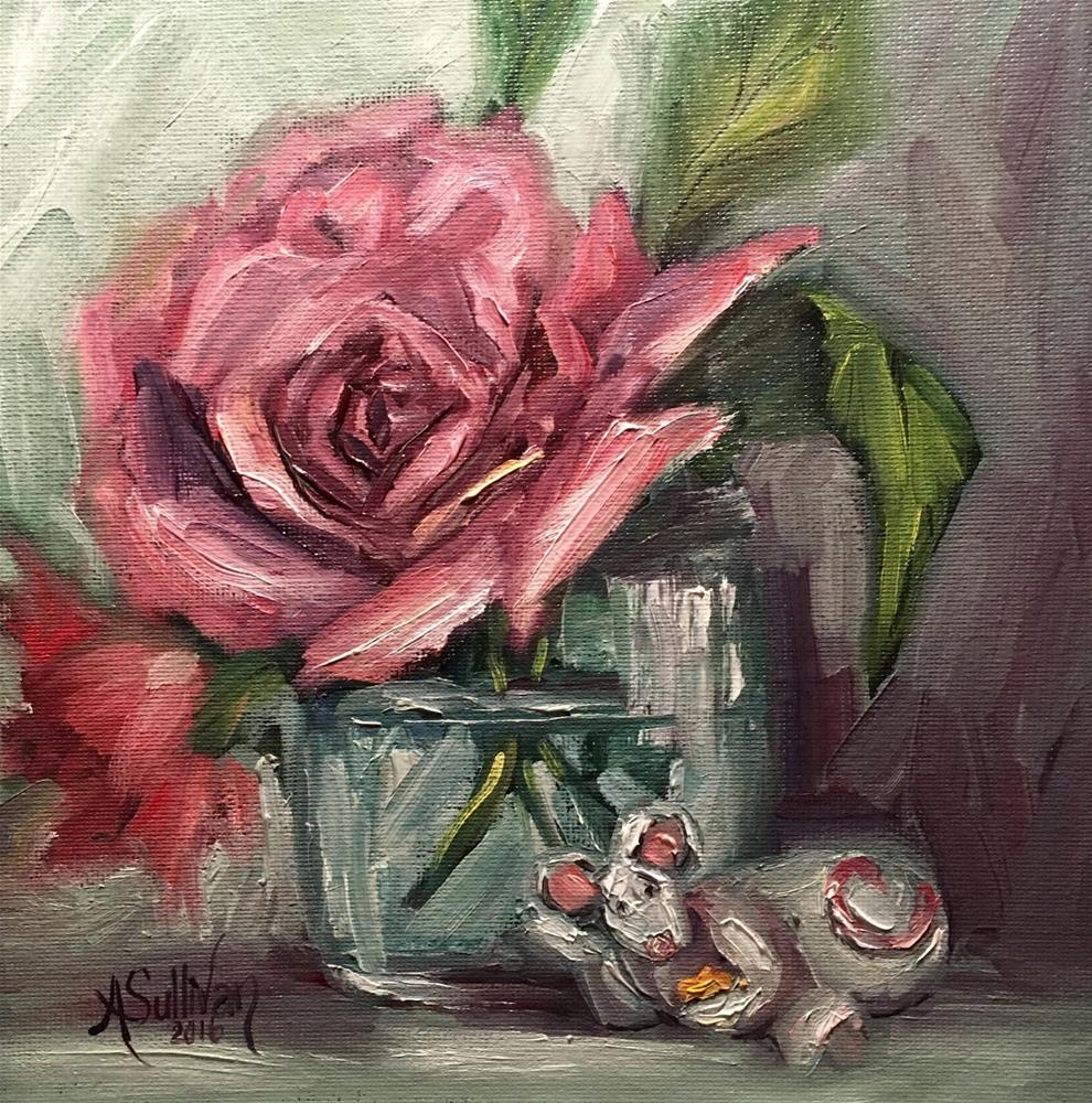 """Just Taking a Break still life painting by Alabama Artist Angela Sullivan"" original fine art by Angela Sullivan"
