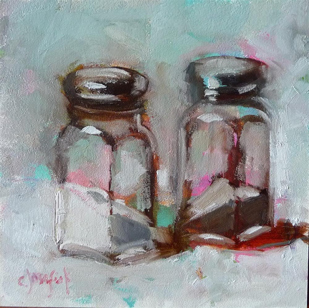 """50 Shades of Gray"" original fine art by Carol Josefiak"