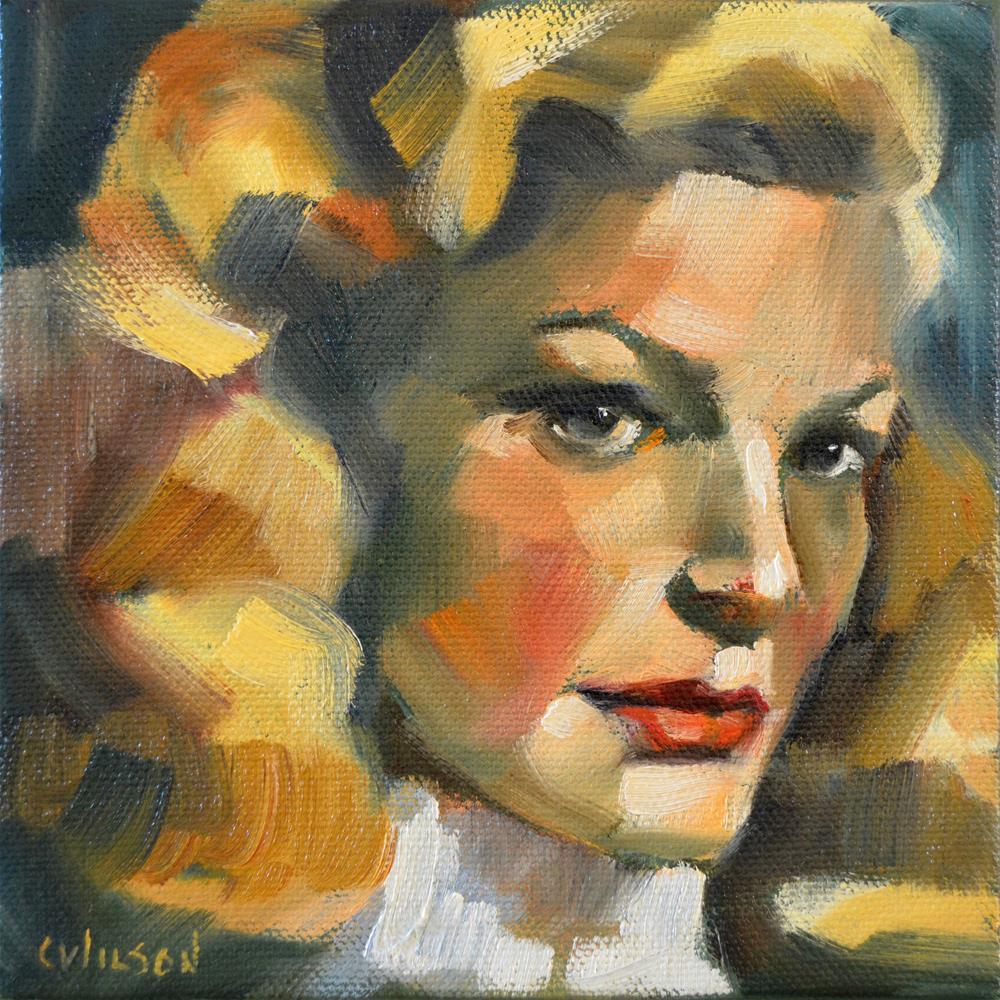 """Baby"" original fine art by Cheryl Wilson"