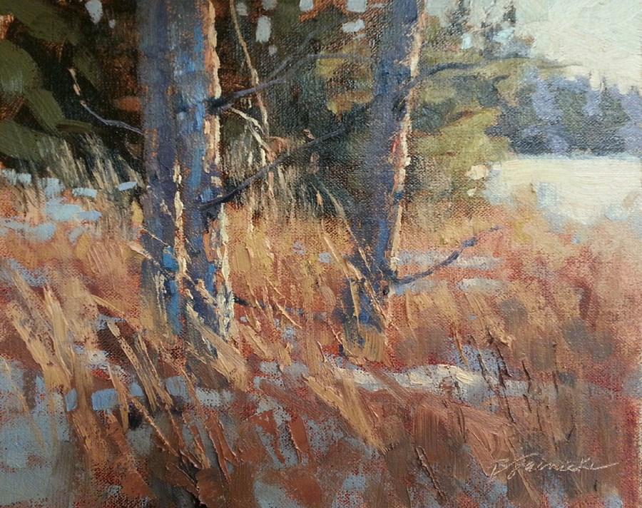 """Tree Lighting"" original fine art by Barbara Jaenicke"