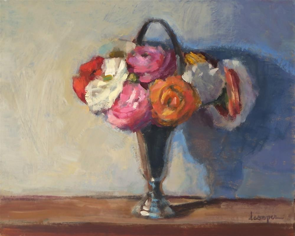 """Ranunculus  Bunch"" original fine art by Dana Cooper"