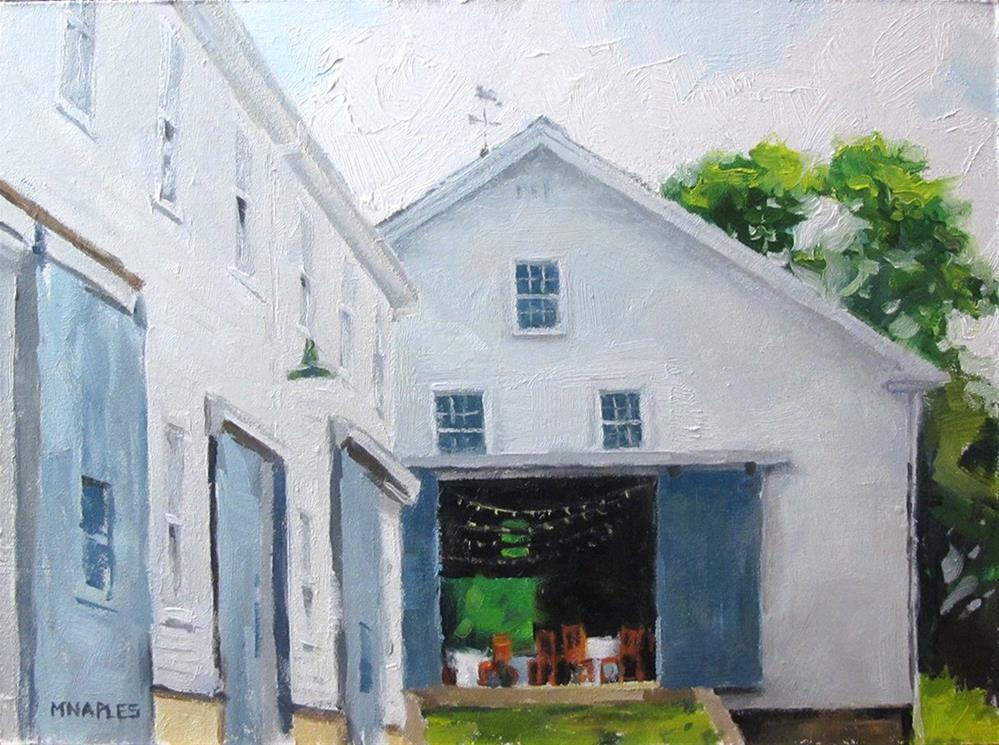 """Barn Wedding"" original fine art by Michael Naples"