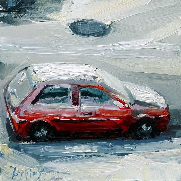 """Blick aus dem Fenster"" original fine art by Jurij Frey"