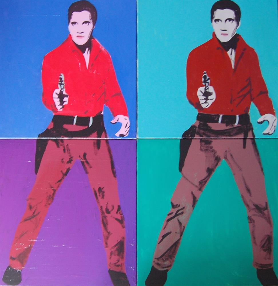 """Double Elvis"" original fine art by michael vigneux"
