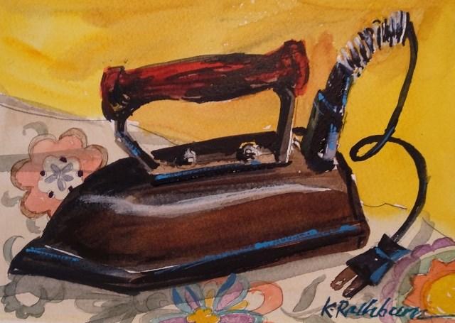 """Hot Stuff"" original fine art by Kathy Los-Rathburn"
