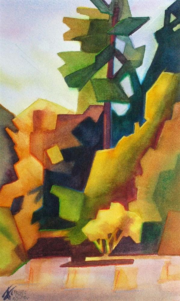 """Trees"" original fine art by Mark Allison"