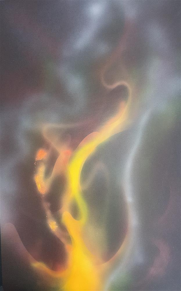 """Flame"" original fine art by Phyllisha Hamrick"