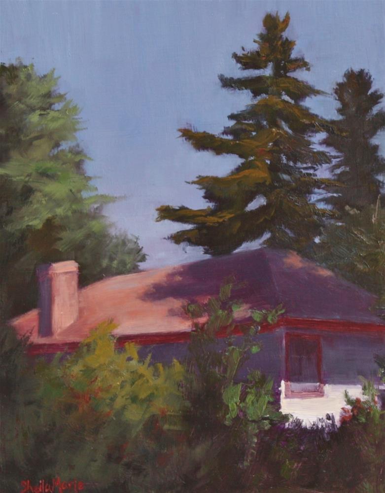 """Sunday Morning Behind Morrison"" original fine art by Sheila Marie"