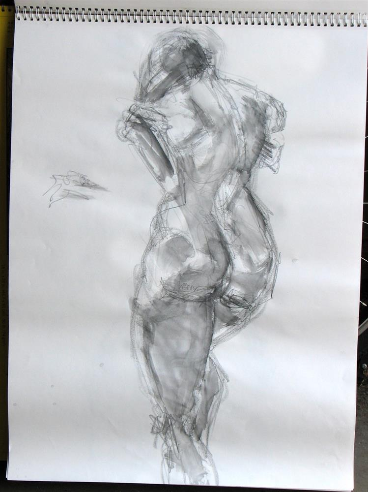 """gesture 5"" original fine art by jeffrey kasbohm"