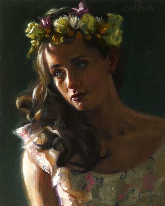 """Spring's Crown"" original fine art by John Larriva"
