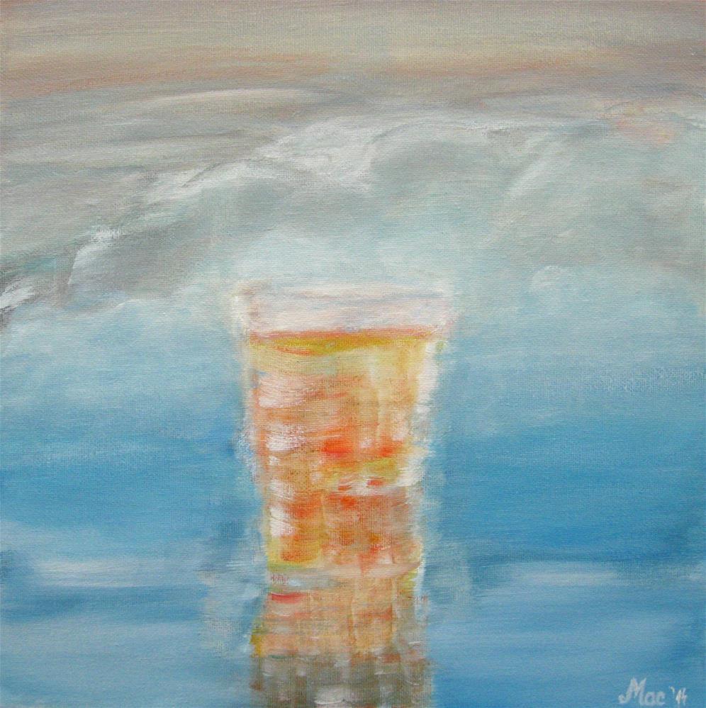 """Relax"" original fine art by Alina Frent"