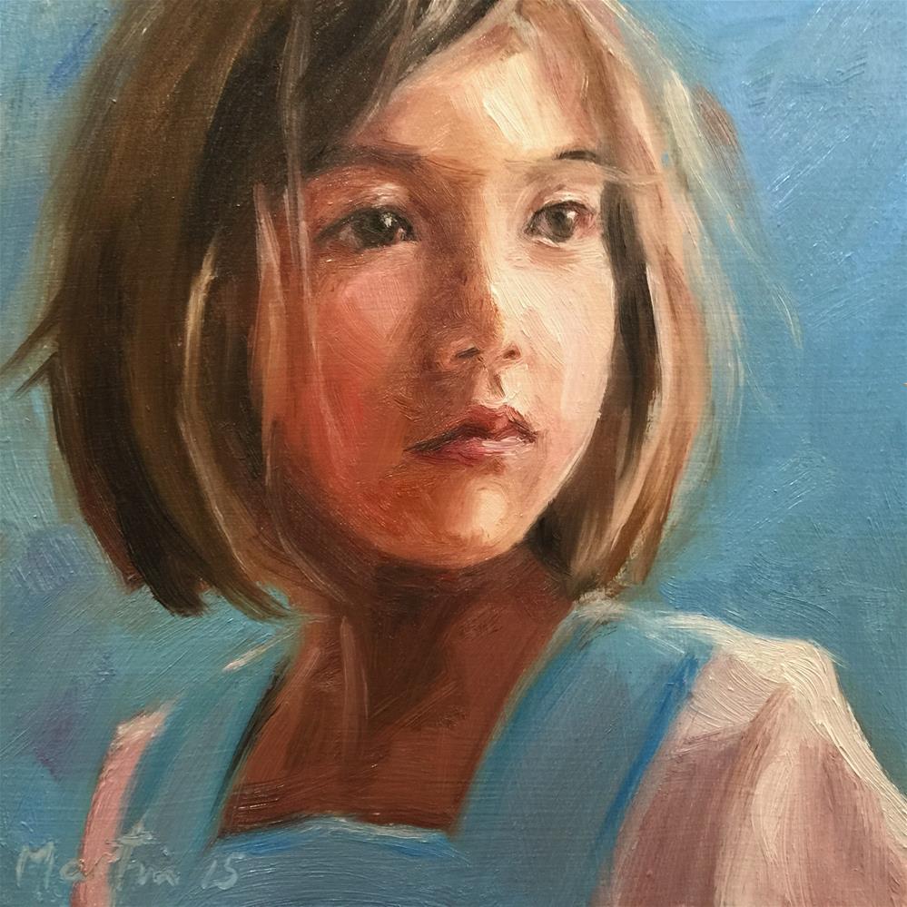 """Helena"" original fine art by Chris Martin"