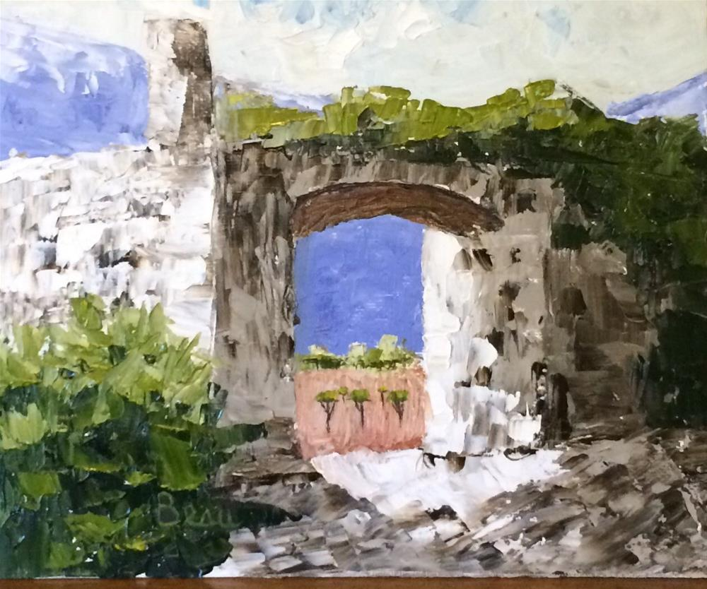 """The Vineyard Gate"" original fine art by Beau Crump"
