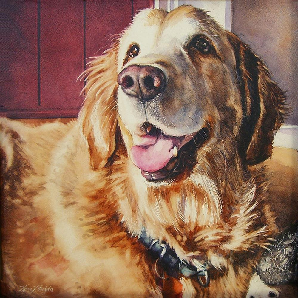 """Brady"" original fine art by Kara K. Bigda"