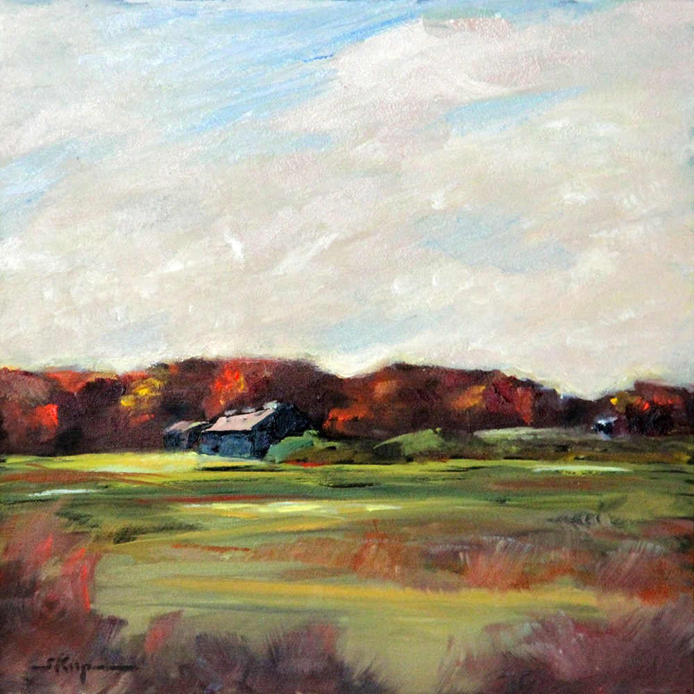 """Bedford Farmland"" original fine art by Shelley Koopmann"