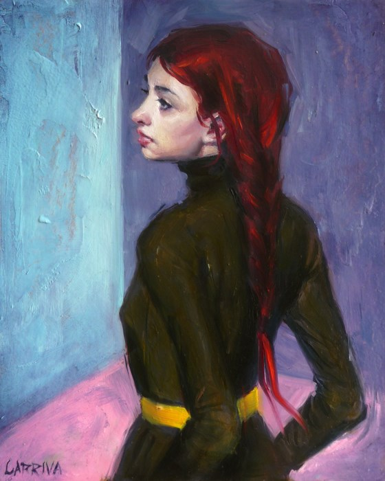 """Corner"" original fine art by John Larriva"