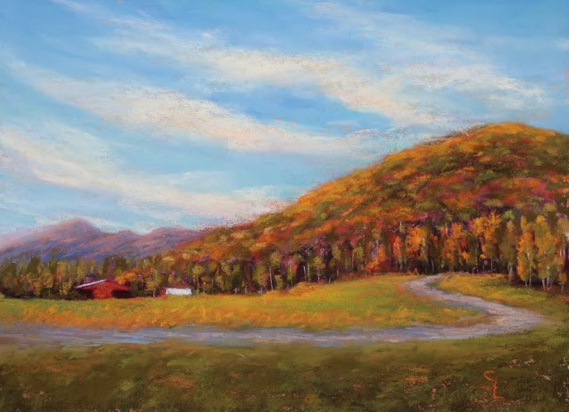 """Hear the Woods Sing"" original fine art by Sharon Lewis"