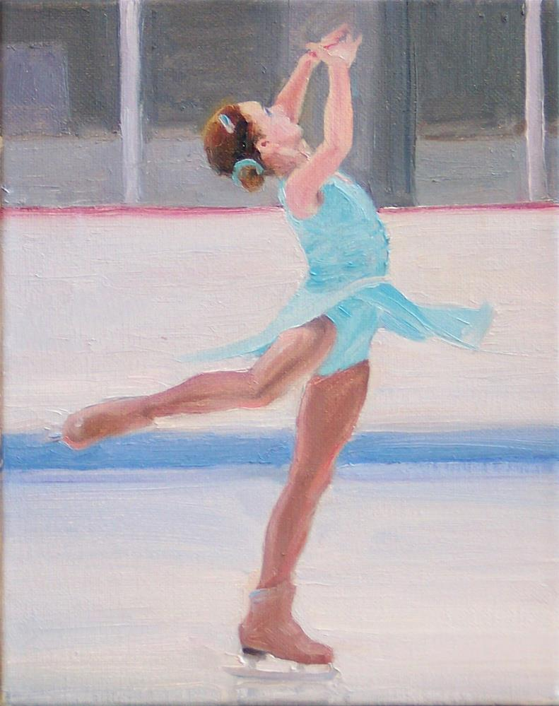 """Bella,figure,oil on canvas,10x8,priceNFS"" original fine art by Joy Olney"