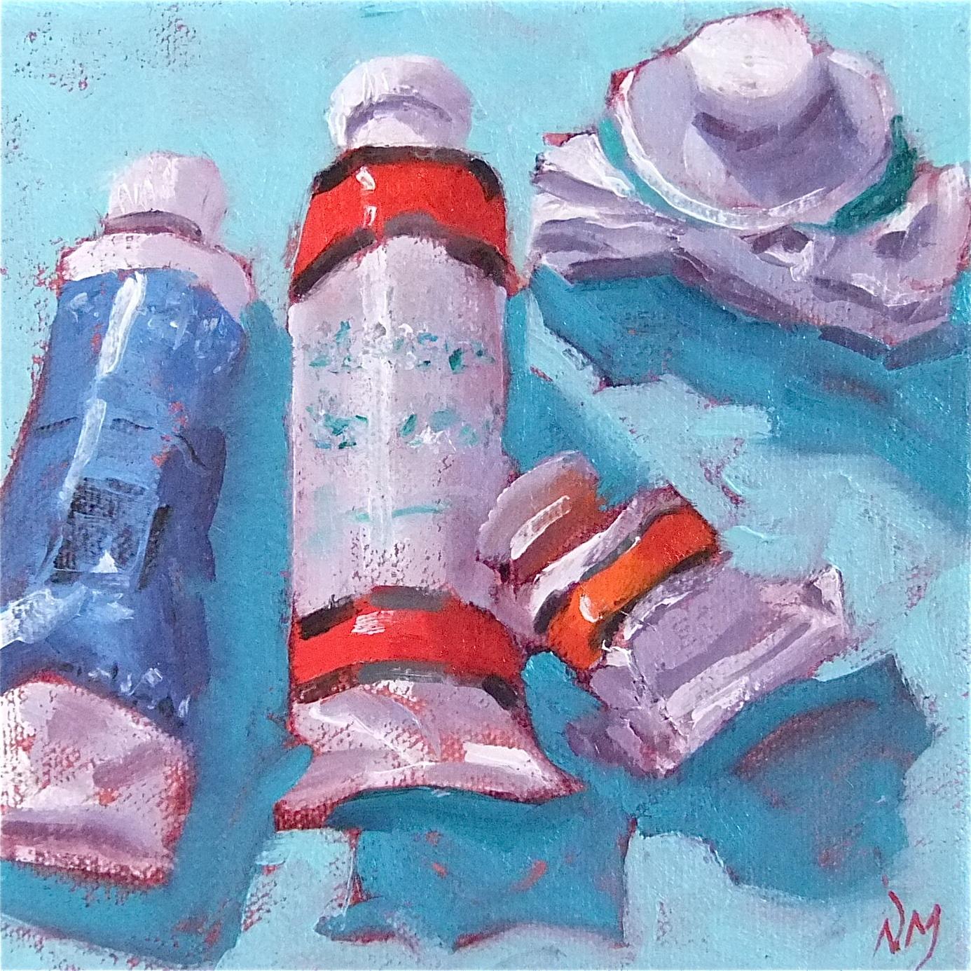 """""""Paint"""" original fine art by Nora MacPhail"""
