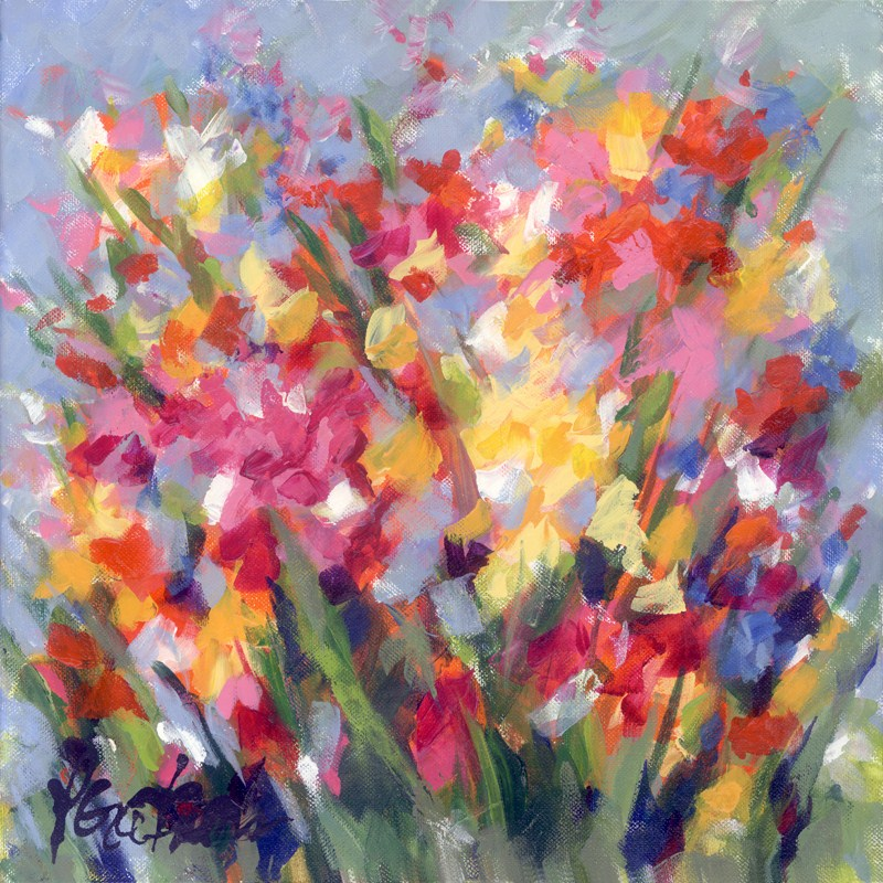 """Merry Meadow"" original fine art by Pamela Gatens"