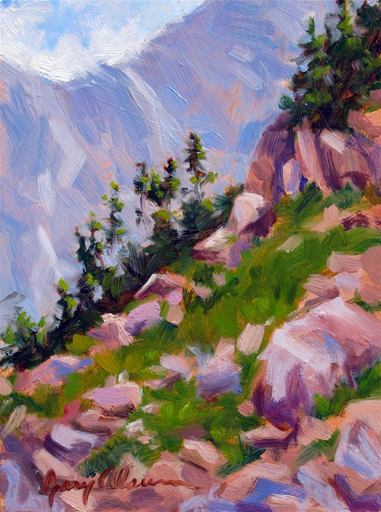 """Below Pawnee Pass"" original fine art by Gary Alsum"