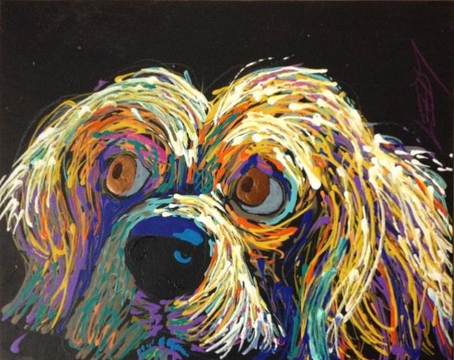 """I Want Something"" original fine art by Jeff Leedy"