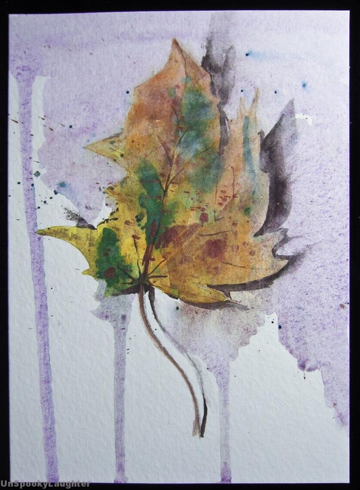 """Card 39"" original fine art by A.E.E. Miller"