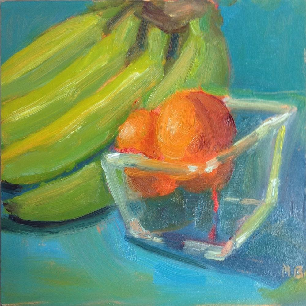"""""""Waiting to Ripen"""" original fine art by Marcia Bergtholdt"""