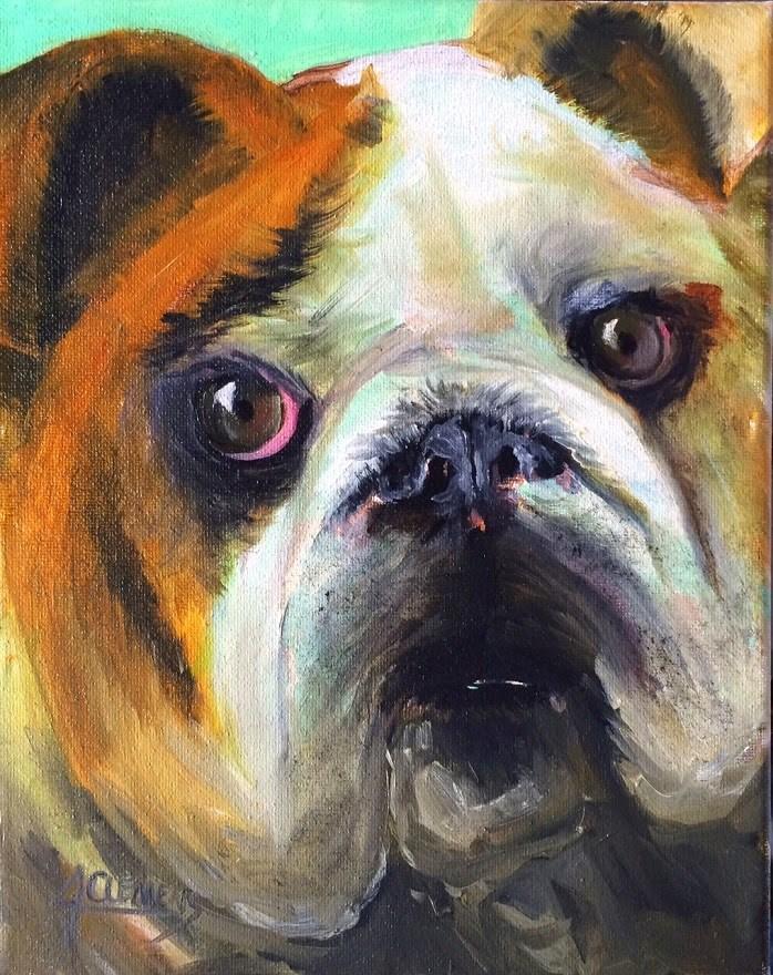 """""""Tuffy"""" original fine art by Jolynn Clemens"""