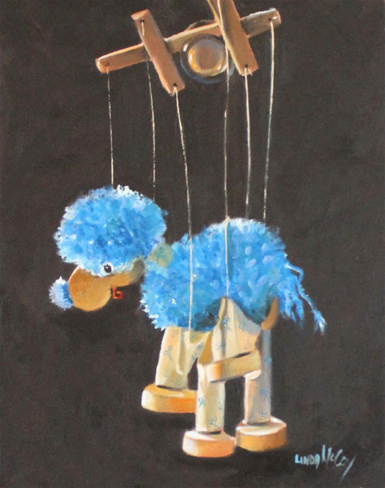 """I Got No Strings"" original fine art by Linda McCoy"