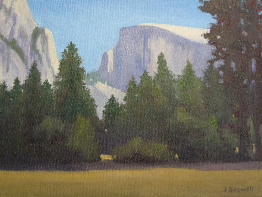 """View of Half Dome"" original fine art by Jennifer Boswell"