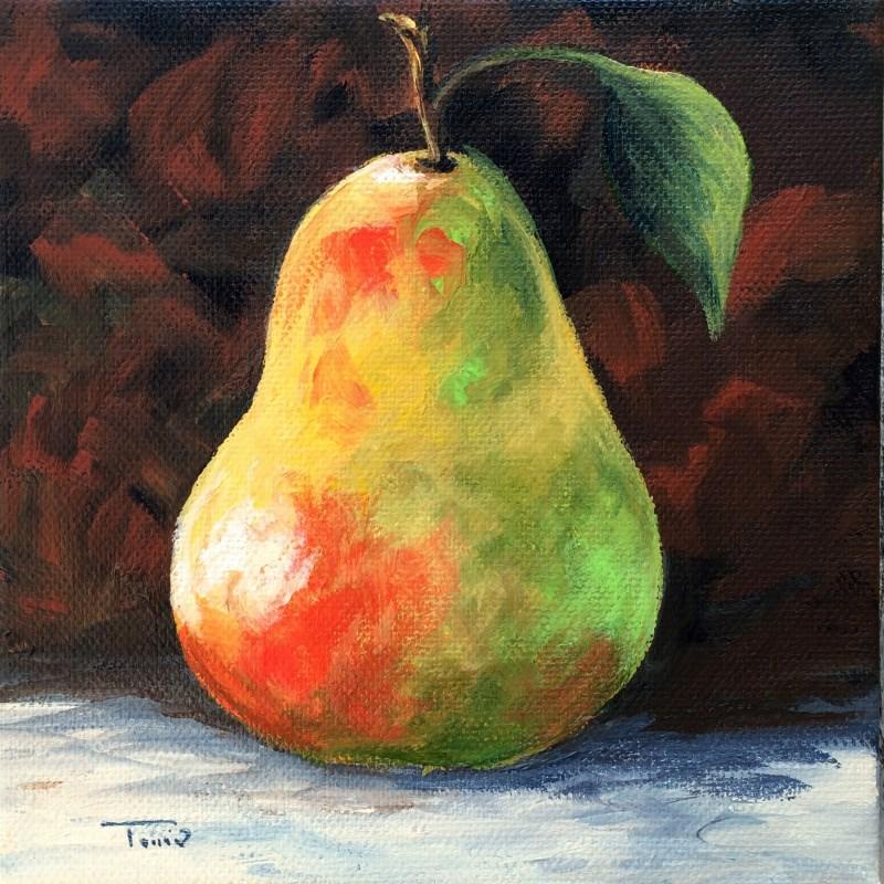 """""""September Pear IV"""" original fine art by Torrie Smiley"""