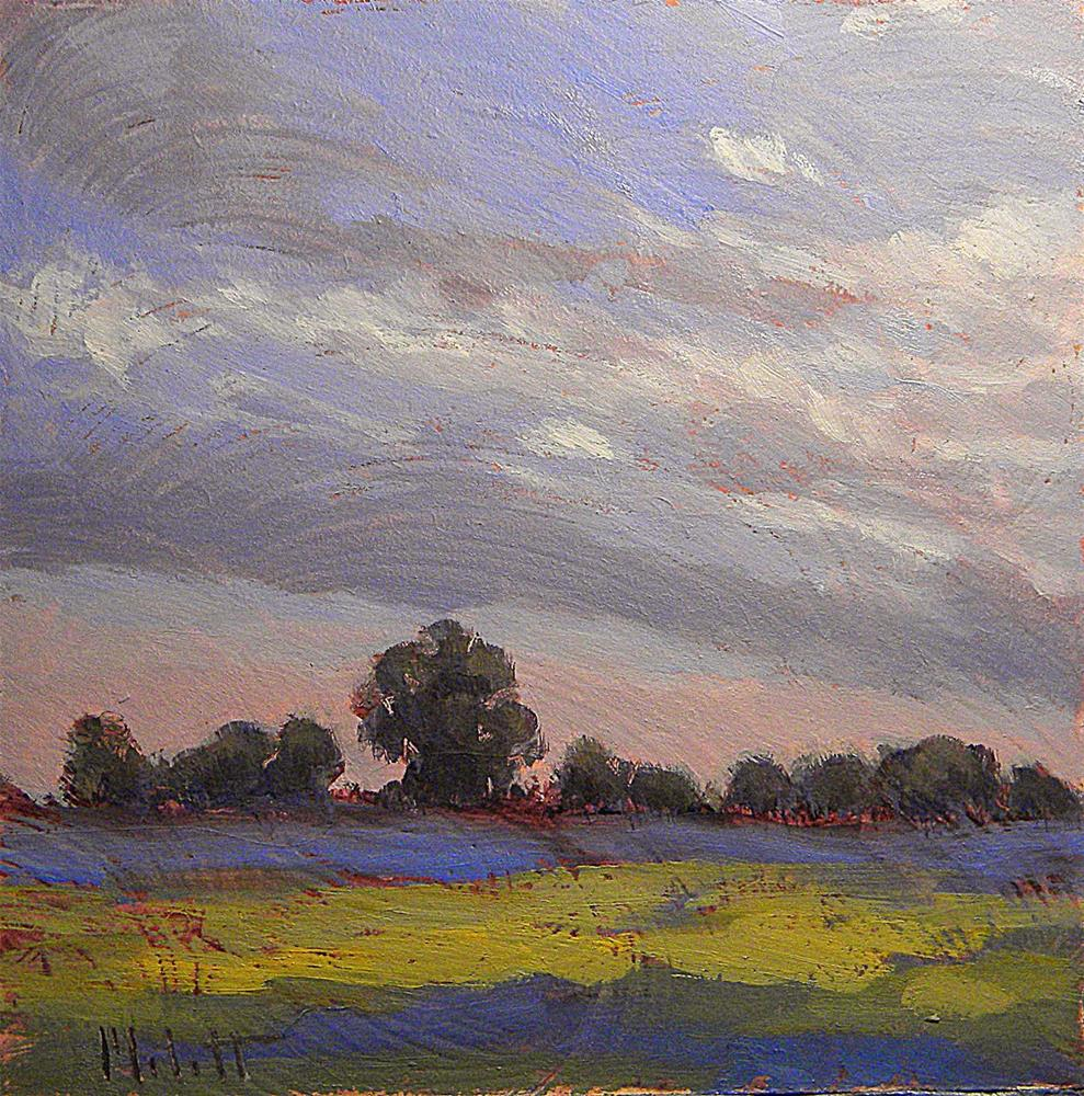 """Midwest Landscape and Skies Daily Paintings Heidi Malott"" original fine art by Heidi Malott"