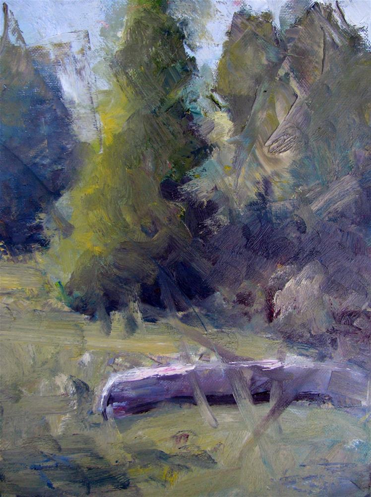 """Summer's End"" original fine art by Susan Elizabeth Jones"