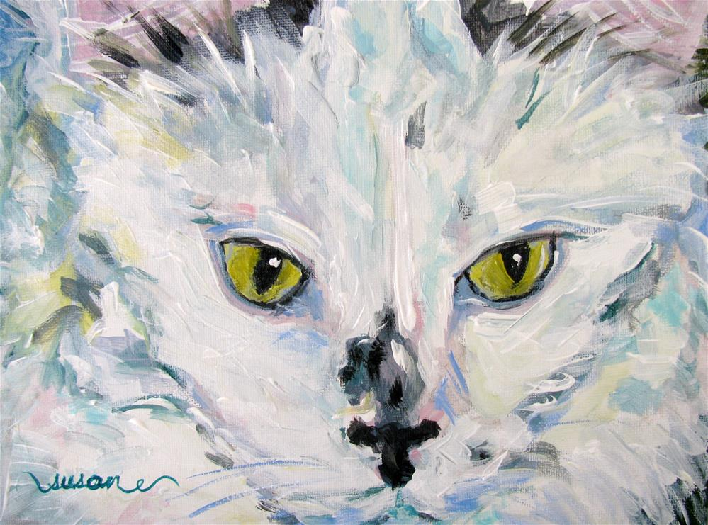 """Gracie"" original fine art by Susan Elizabeth Jones"