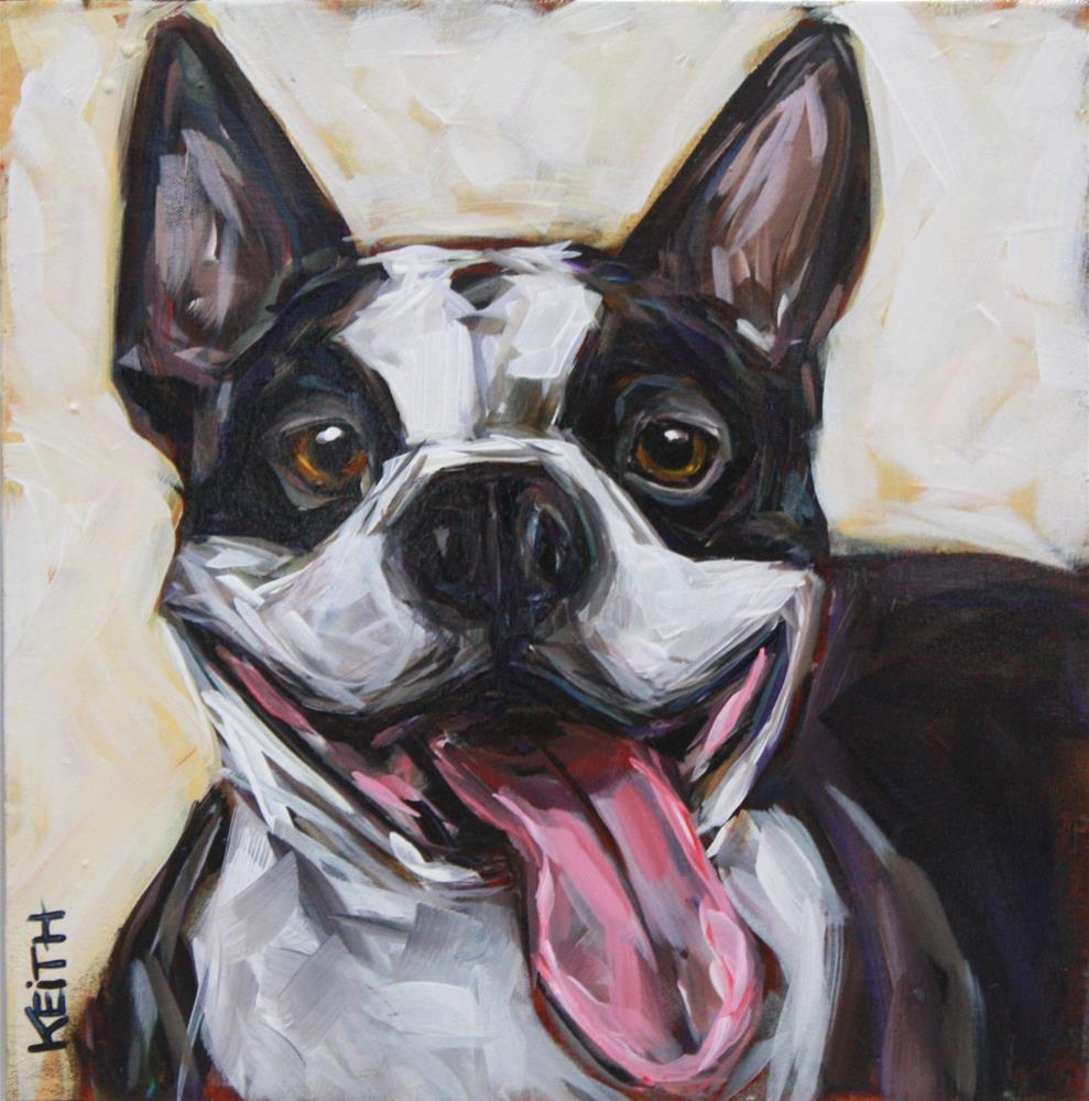 """Bailey"" original fine art by Kandice Keith"
