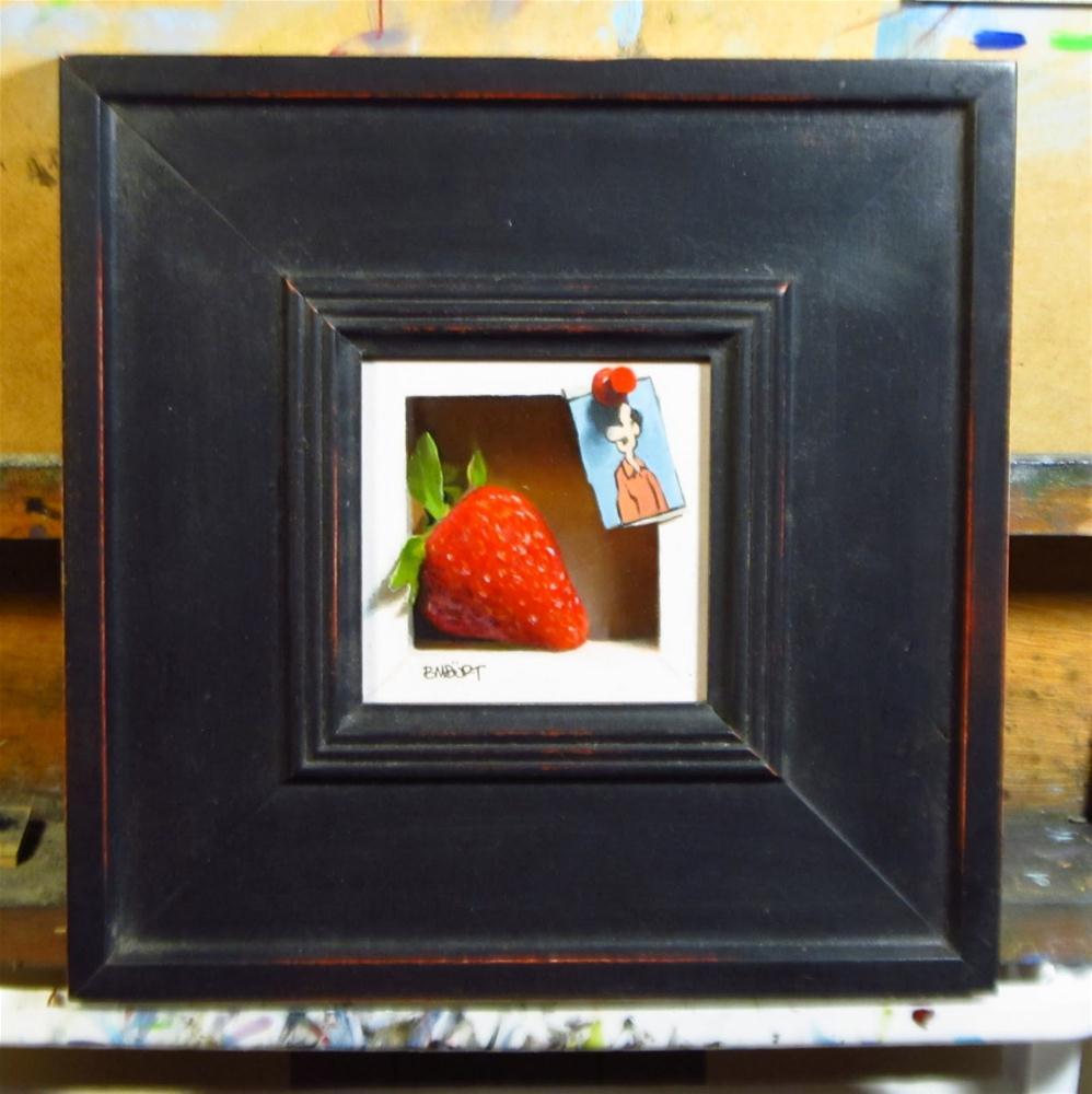 """""""Summer's Sweet"""" original fine art by Brian Burt"""