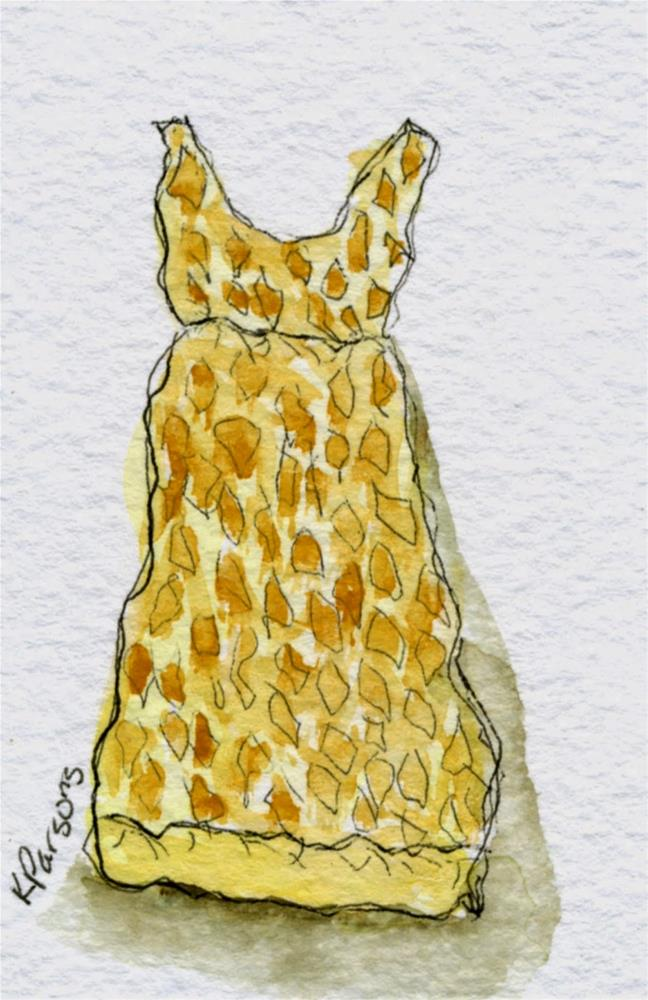 """Thrift Store Dress"" original fine art by Kali Parsons"