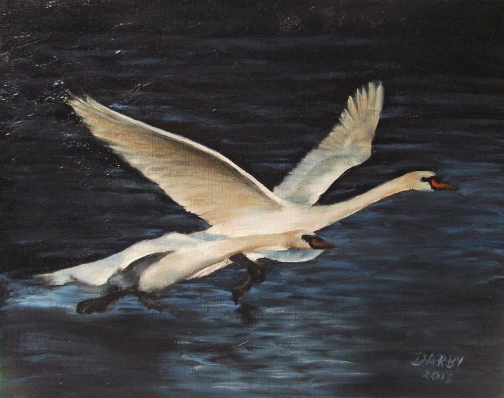 """Elopement"" original fine art by Lynn Darby"