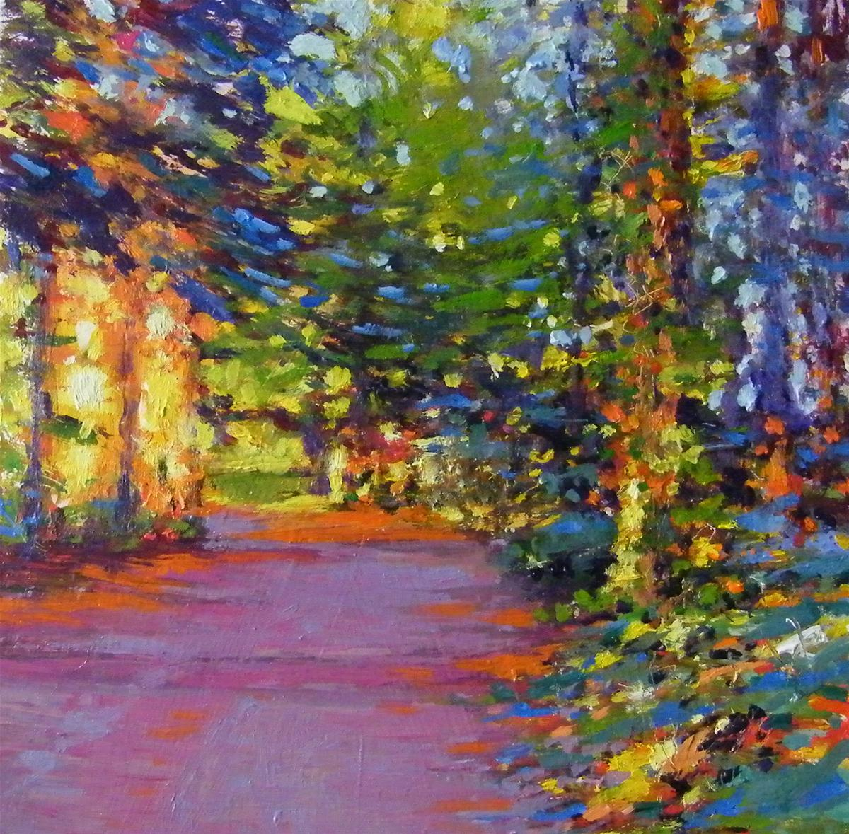 """Evening Light"" original fine art by Ken Devine"
