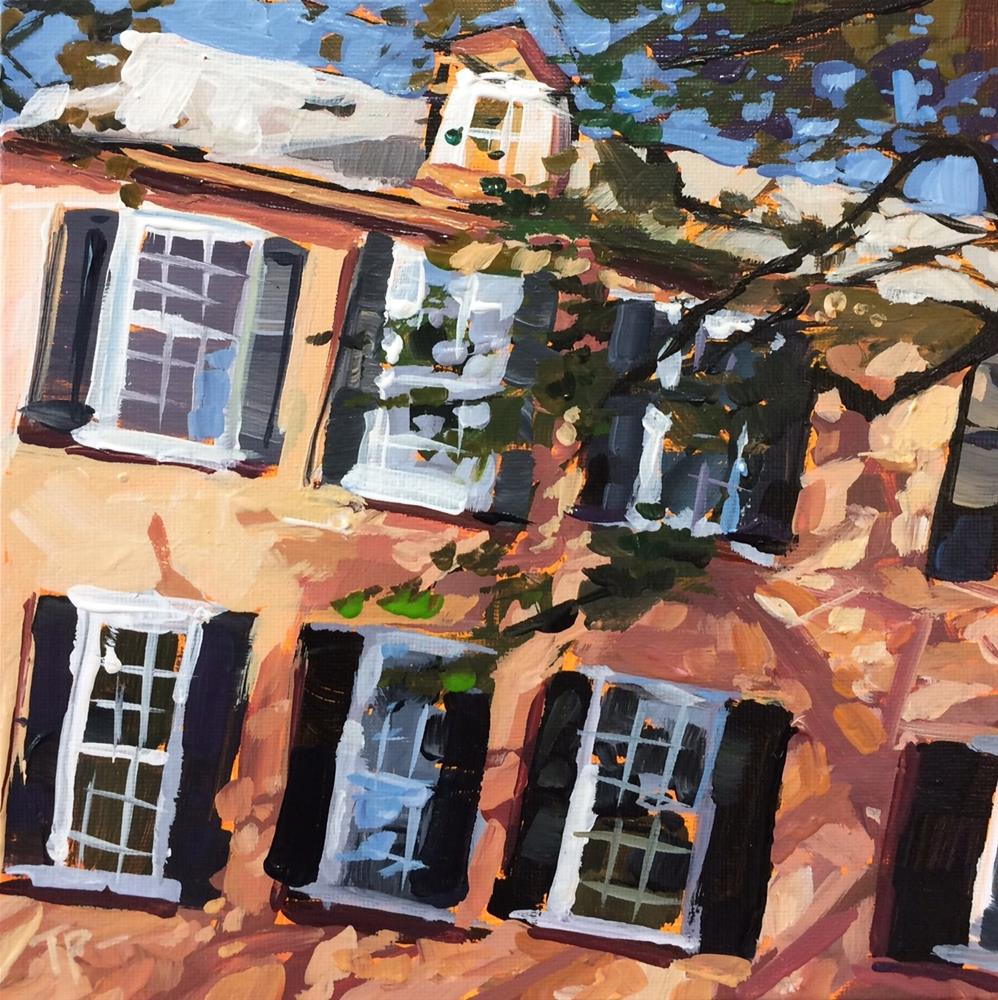 """Dapple Charleston"" original fine art by Teddi Parker"