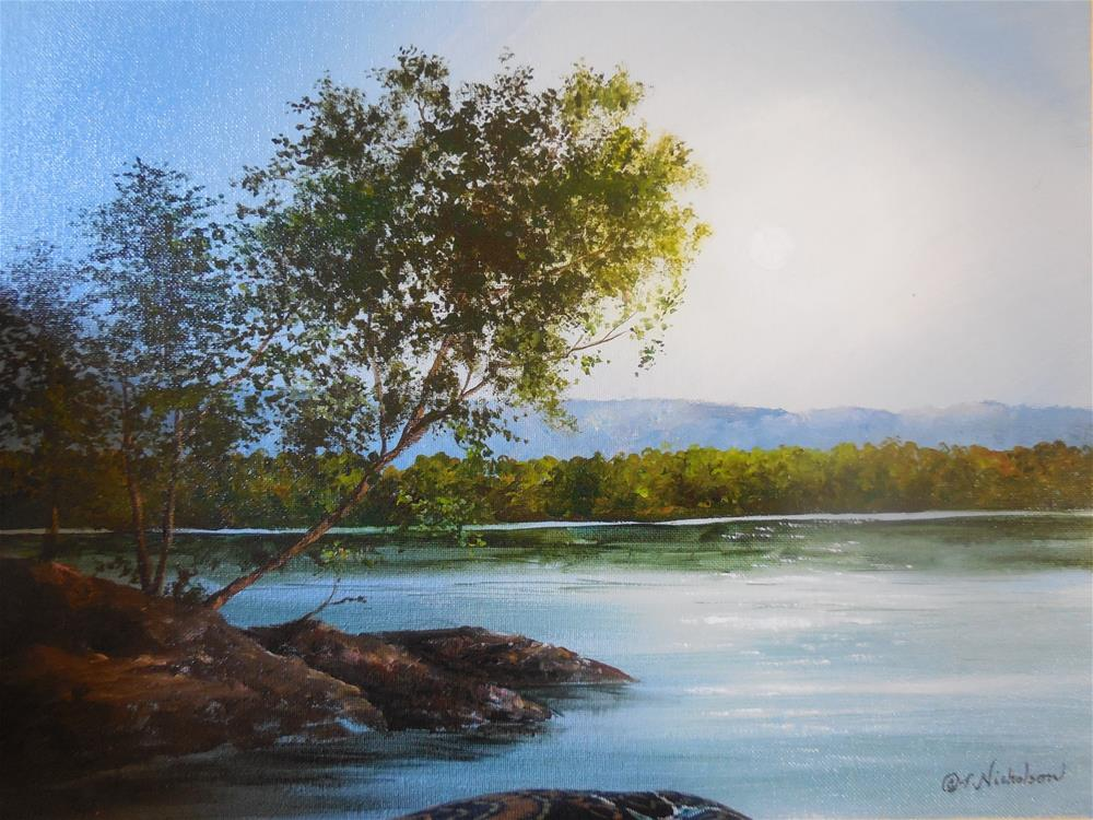 """Twilight"" original fine art by Terri Nicholson"