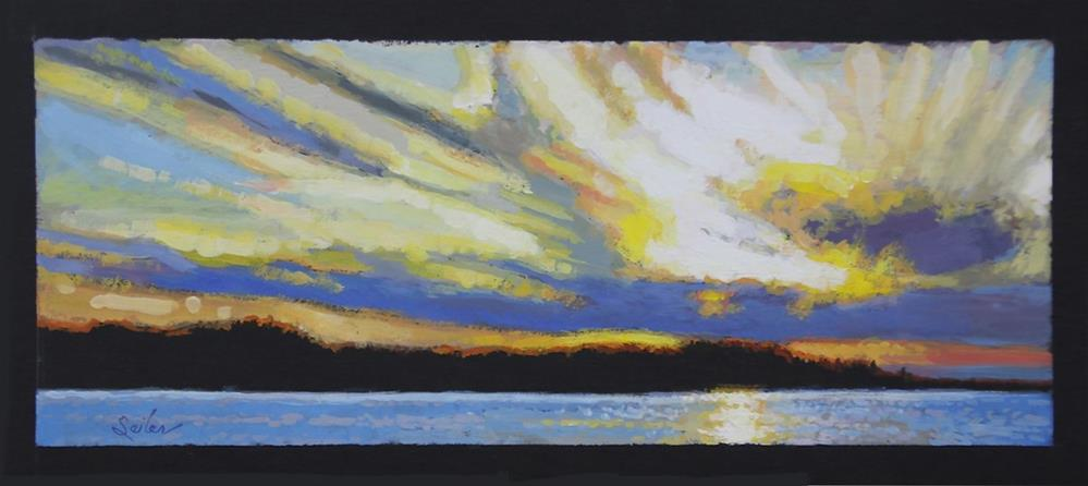"""""""Sunset Point"""" original fine art by Larry Seiler"""