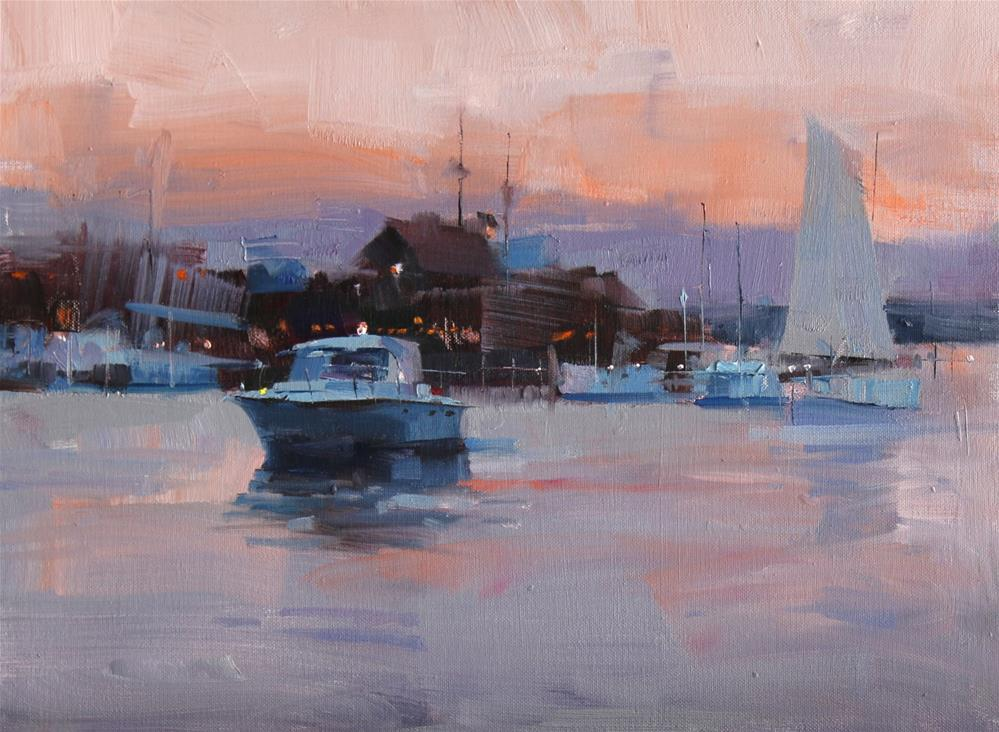 """""""St Michaels Exercise 1"""" original fine art by Qiang Huang"""
