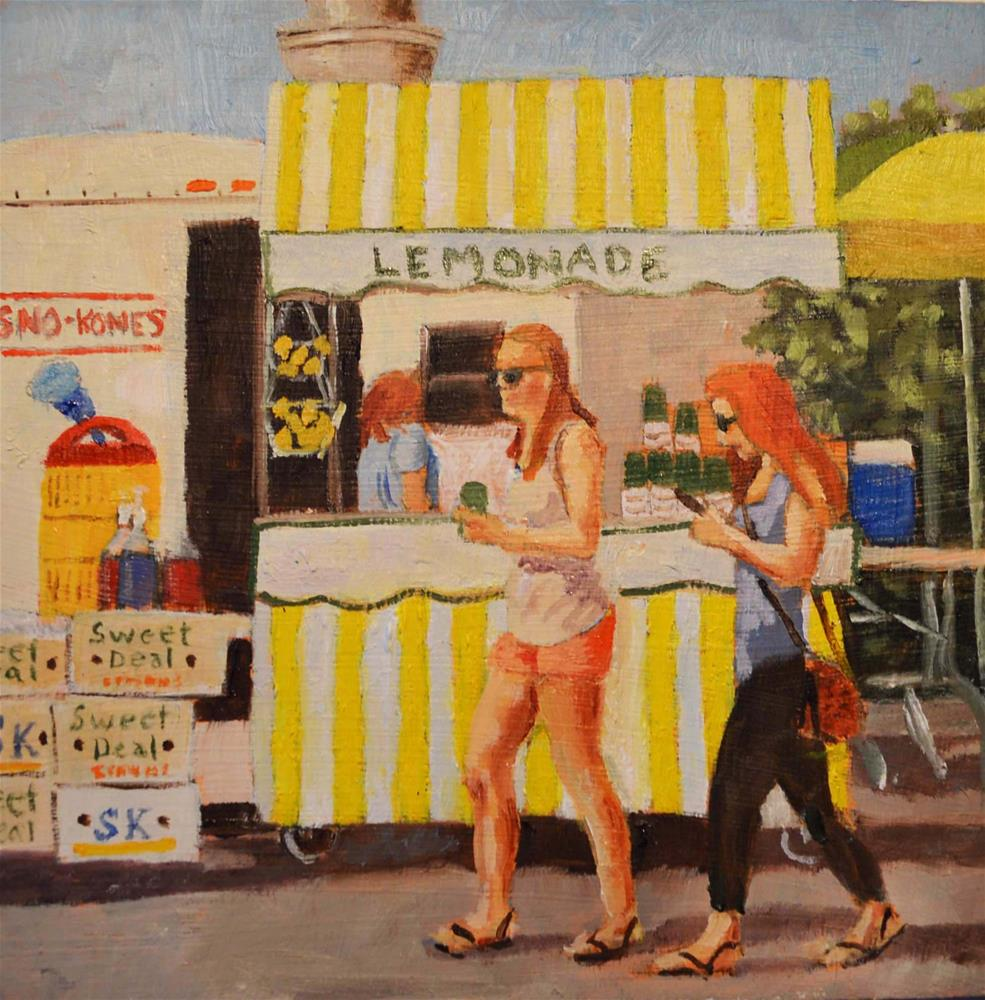 """Lemonade"" original fine art by Robert Frankis"