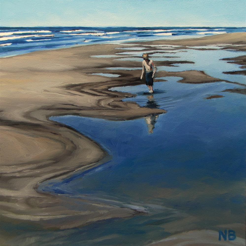 """Sunday in Seaview"" original fine art by Nora Bergman"