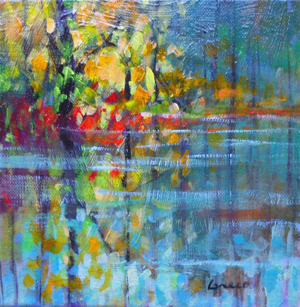 """yellow reflection"" original fine art by salvatore greco"