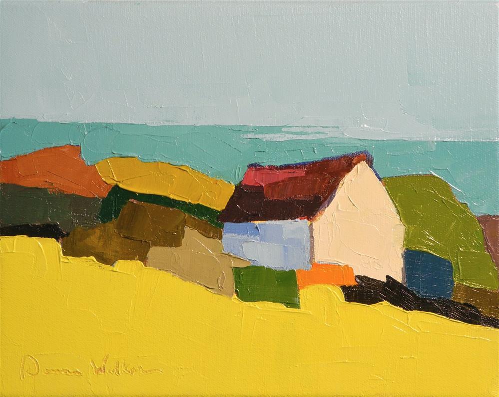"""""""The Outer Reach"""" original fine art by Donna Walker"""